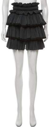 Isabel Marant Tiered Pleated Skirt