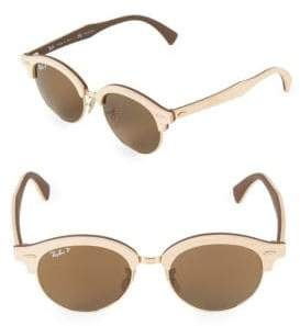 Ray-Ban 51MM Clubmaster Wood Sunglasses