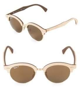 cc6243d8b2 ... Ray-Ban 51MM Clubmaster Wood Sunglasses