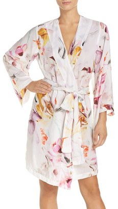 Women's Plum Pretty Sugar Floral Print Kimono Robe $68 thestylecure.com