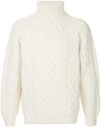 H Beauty&Youth turtleneck sweater