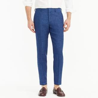 J.Crew Ludlow suit pant in blue Italian linen