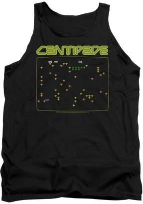 Atari Arcade Video Games Centipede Retro Game Screen Adult Tank Top Shirt