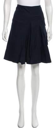 Hussein Chalayan Pleated Knee-Length skirt