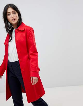 Helene Berman Single Breasted Trench