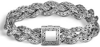 John Hardy Small Braided Chain Bracelet