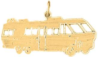 Roger Vivier NecklaceObsession Gold-plated 925 Silver 19mm Recreational Vehicle Pendant Necklace