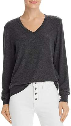 Wildfox Couture Baggy Beach V-Neck Sweatshirt