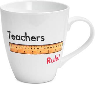 Pfaltzgraff Teachers Rule Mug