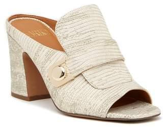 Franco Sarto \nRosalie Lizard Embossed Heeled Sandal