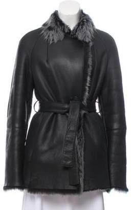 Short Shearling Coat