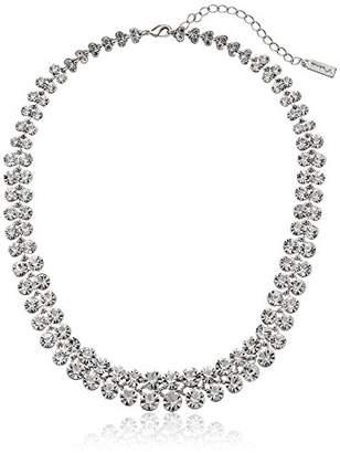 Nina N-Aliz Double Rivera Graduated Necklace