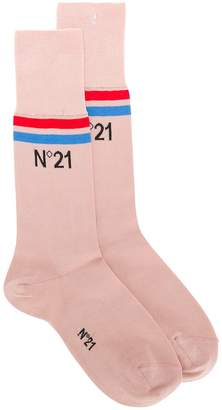 No.21 branded socks