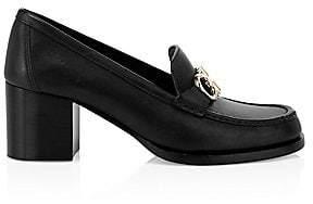 Salvatore Ferragamo Women's Rolo Leather Loafers
