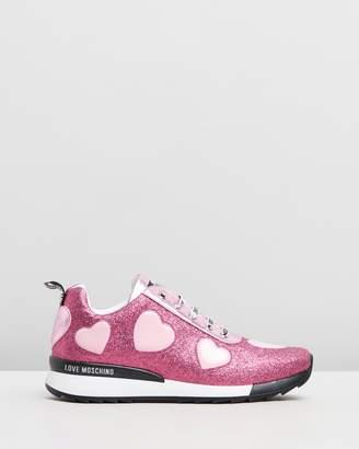 Love Moschino Glitter Sneakers