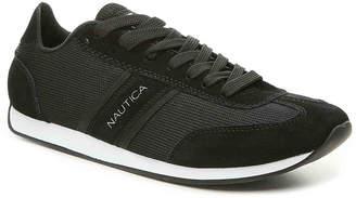 Nautica Boyle Retro Sneaker -White Fabric & Leather - Men's
