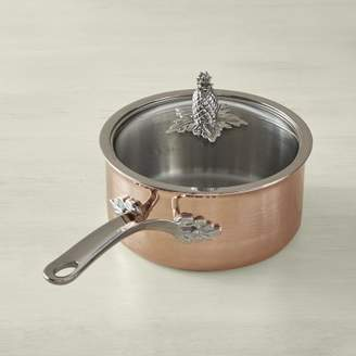 Warehouse Ruffoni Omegna Cupra Hammered Copper Sauce Pan