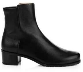 Stuart Weitzman Easyon Reserve Leather Ankle Boots