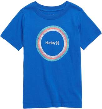 Hurley Circle Distress Graphic T-Shirt