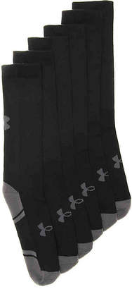 Under Armour Resistor 3 Crew Socks - 6 Pack - Men's