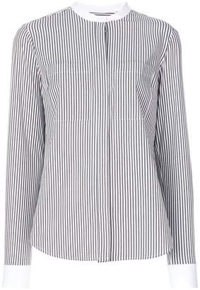 MICHAEL Michael Kors oversized striped shirt