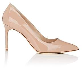 Manolo Blahnik Women's Patent BB Pumps - Nudeflesh