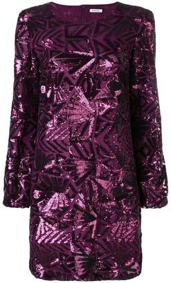 P.A.R.O.S.H. pattern shift dress