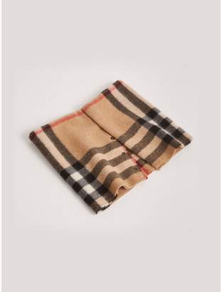 Burberry Childrens Exploded Check Cashmere Snood