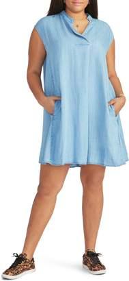 Rachel Roy Chambray Shift Dress