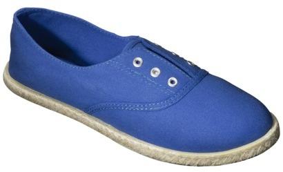 Mossimo Women's Linsey Espadrille Sneaker - Blue