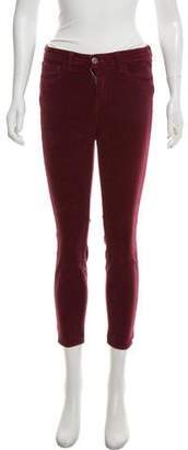 L'Agence Mid-Rise Corduroy Pants