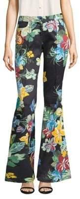 Alexis Kamilla Floral-Print Flare Pants