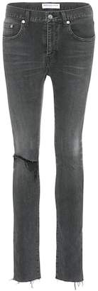 Balenciaga Distressed mid-rise jeans