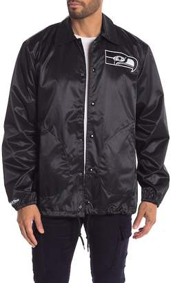 Mitchell & Ness NFL Seattle Seahawks Satin Hoodie