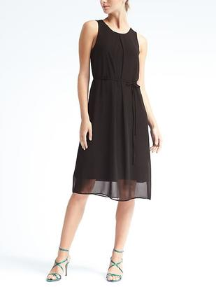 Knit Overlay Dress $118 thestylecure.com