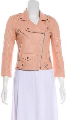 Rebecca Minkoff Perforated Leather Jacket
