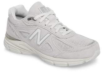 New Balance 990v4 Perforated Sneaker