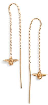 Olivia Burton Bee Chain Thread Through Earrings