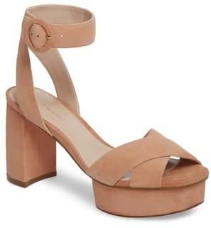 Stuart Weitzman Carmina Ankle Strap Platform Sandal
