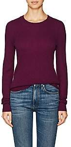 Barneys New York WOMEN'S STOCKINETTE-STITCHED CASHMERE SWEATER-PURPLE SIZE XS