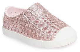 Toddler Girl's Native Shoes 'Jefferson - Bling' Slip-On Sneaker $45 thestylecure.com