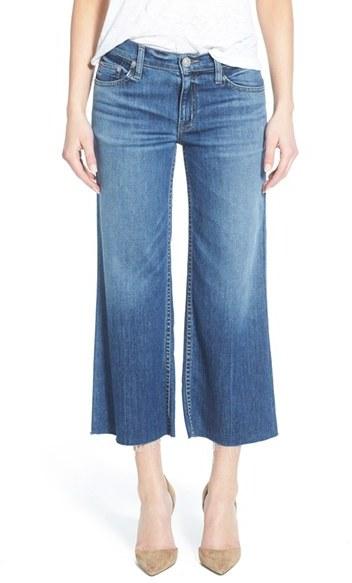Women's Hudson Jeans 'Sammi' Crop Wide Leg Jeans