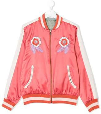 Stella McCartney Willow reversible bomber jacket