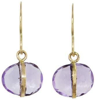 Melissa Joy Manning Amethyst Single Drop Earrings