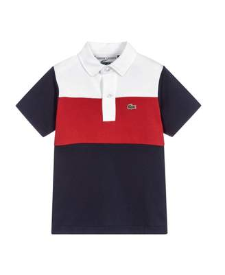 Lacoste 85th Anniversary Jersey Block Polo