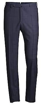 Incotex Men's Benson Technowool Plaid Pants