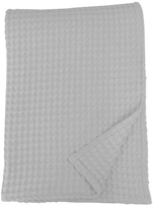 The Cotton Castle Silver King Waffle Blanket