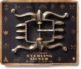 Ralph Lauren Sterling Silver Belt Buckle