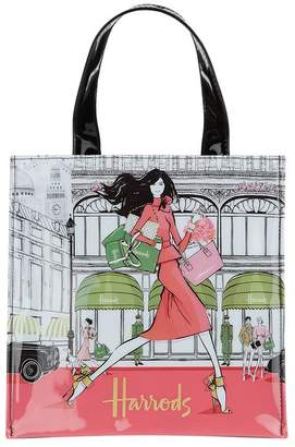 Harrods Megan Hess Small Luxury Lifestyle Shopper Bag