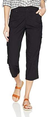 Lee Women's Relaxed Fit Nikki Knit Waist Cargo Capri Pant